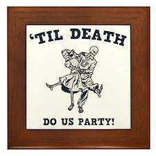 death-party-LTT Framed Tile