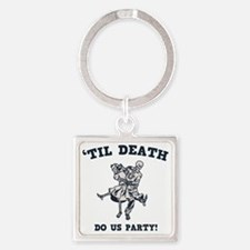 death-party-LTT Square Keychain