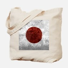 Japanese Rising Sun Square2 Tote Bag