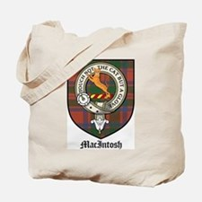 MacIntosh Clan Crest Tartan Tote Bag