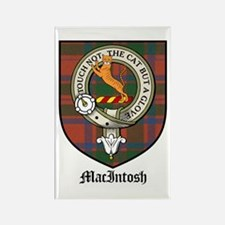MacIntosh Clan Crest Tartan Rectangle Magnet (10 p
