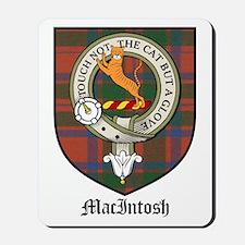 MacIntosh Clan Crest Tartan Mousepad