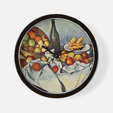 Basket of Apples Wall Clock