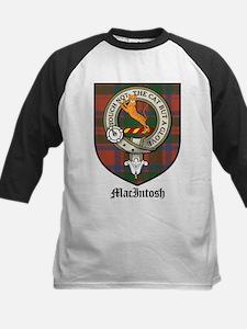 MacIntosh Clan Crest Tartan Tee