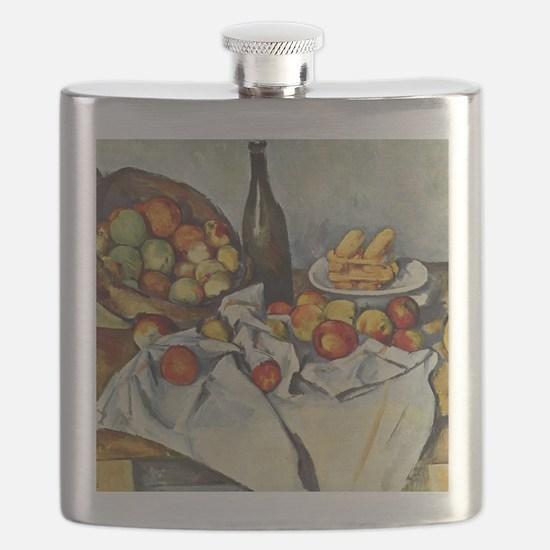 Basket of Apples Flask