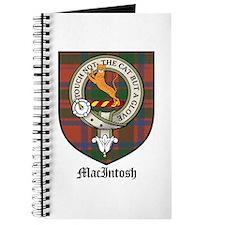MacIntosh Clan Crest Tartan Journal