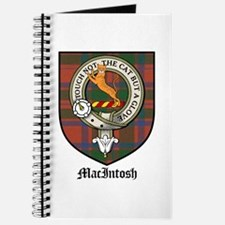 MacIntosh Clan Crest Tartan Journal