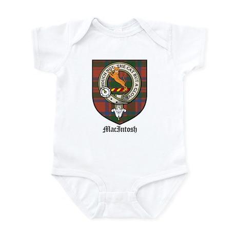 MacIntosh Clan Crest Tartan Infant Bodysuit