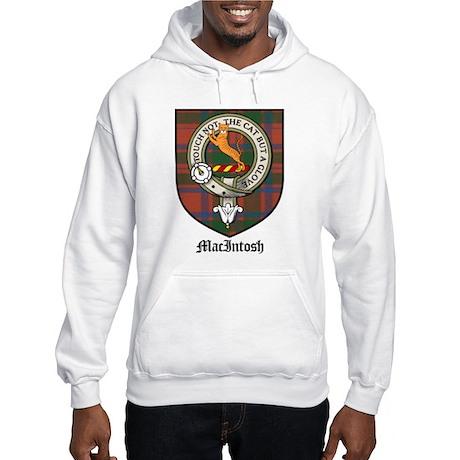 MacIntosh Clan Crest Tartan Hooded Sweatshirt