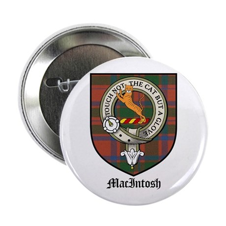 "MacIntosh Clan Crest Tartan 2.25"" Button (10 pack)"