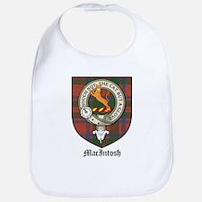 MacIntosh Clan Crest Tartan Bib