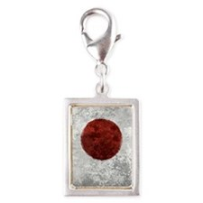 Japanese Disaster Relief Hea Silver Portrait Charm