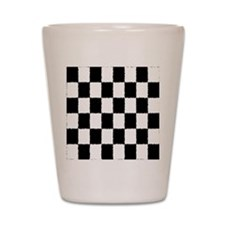Checked Shot Glass