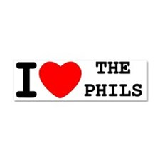I HEART THE PHILS PANTY Car Magnet 10 x 3