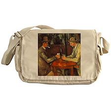 The Cardplayers Messenger Bag