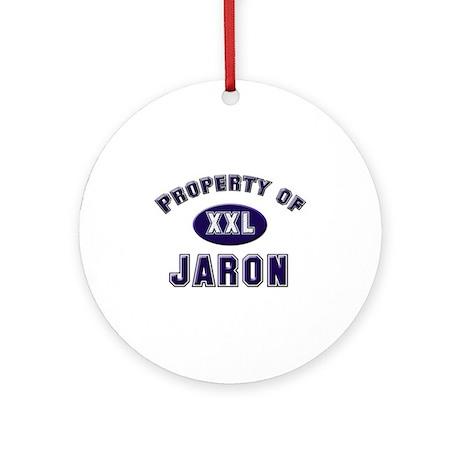 Property of jaron Ornament (Round)