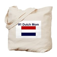 #1 Dutch Mom Tote Bag