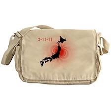 japan_3_11_11 Messenger Bag