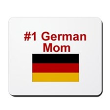 #1 German Mom Mousepad