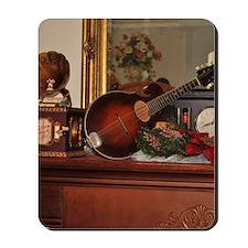 TILE_Christmas_Mandolins1 Mousepad