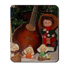 TILE_Christmas_Mandolins4-1 Mousepad