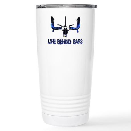 Life_behind_bars_drk Stainless Steel Travel Mug