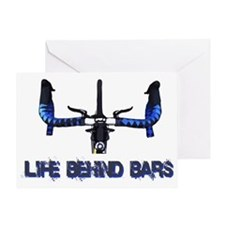 Life_behind_bars_drk Greeting Card