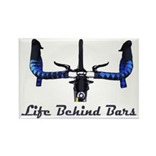 Life_Behind_Bars_2_drk Rectangle Magnet