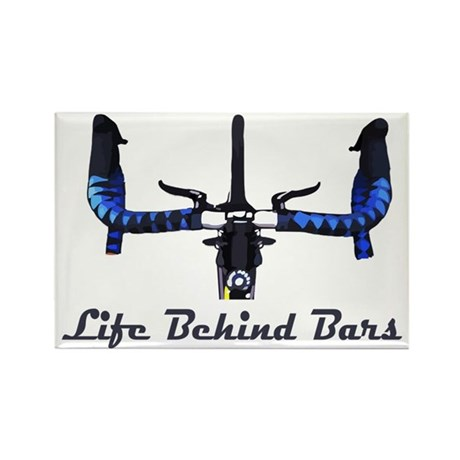 Life_Behind_Bars_2_drk Rectangle Magnet