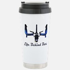 Life_Behind_Bars_2_drk Stainless Steel Travel Mug