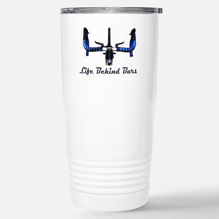 Life_Behind_Bars_2_drk Stainless Steel Travel Mug