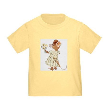 Daisy Bouquet Mouse Toddler T-Shirt
