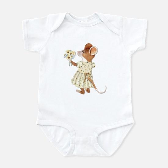 Daisy Bouquet Mouse Infant Bodysuit