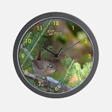 Wren Wall Clock