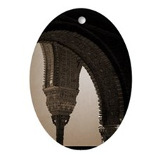 alhambra Oval Ornament