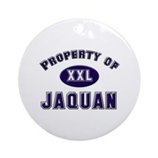 Property of jaquan Ornament (Round)