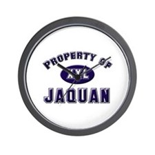 Property of jaquan Wall Clock