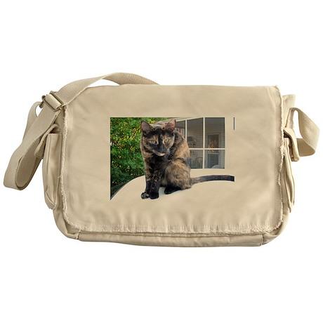 callie the cat Messenger Bag