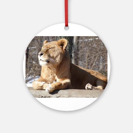 lioness Ornament (Round)