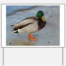 quack Yard Sign