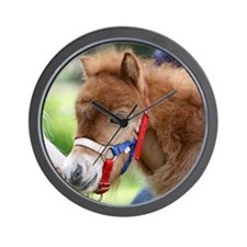 Orphaned Foal - Joy Wall Clock
