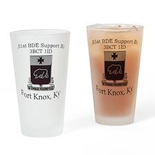 201 BSB 3BCT 1ID Drinking Glass