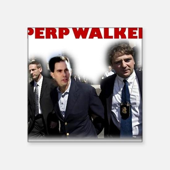 "perpwalker Square Sticker 3"" x 3"""