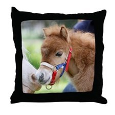 Orphaned Foal - Joy Throw Pillow
