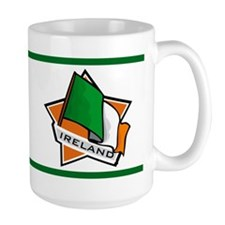 """Ireland Star Flag"" Mug"