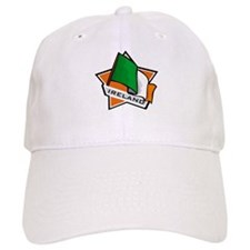 """Ireland Star Flag"" Baseball Cap"