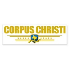 Corpus Christi (Flag 10) pocket Bumper Sticker