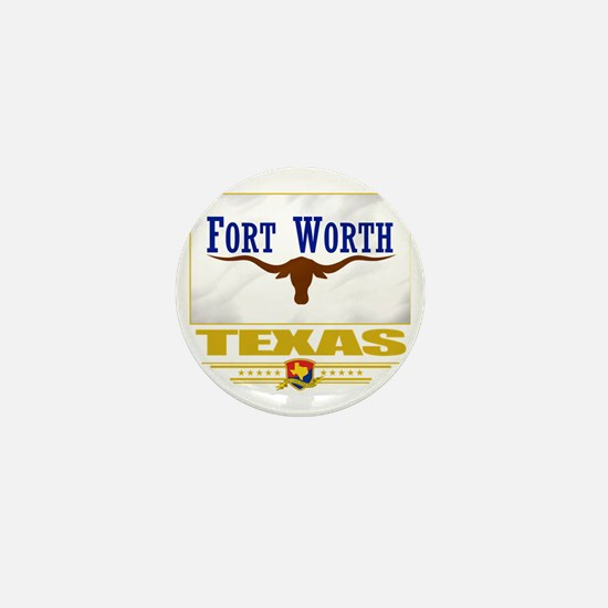 Fort Worth (Flag 10) Mini Button