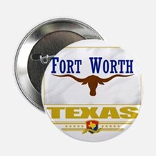 "Fort Worth (Flag 10) 2.25"" Button"
