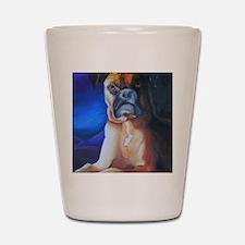 boxerdutchess8x10b Shot Glass